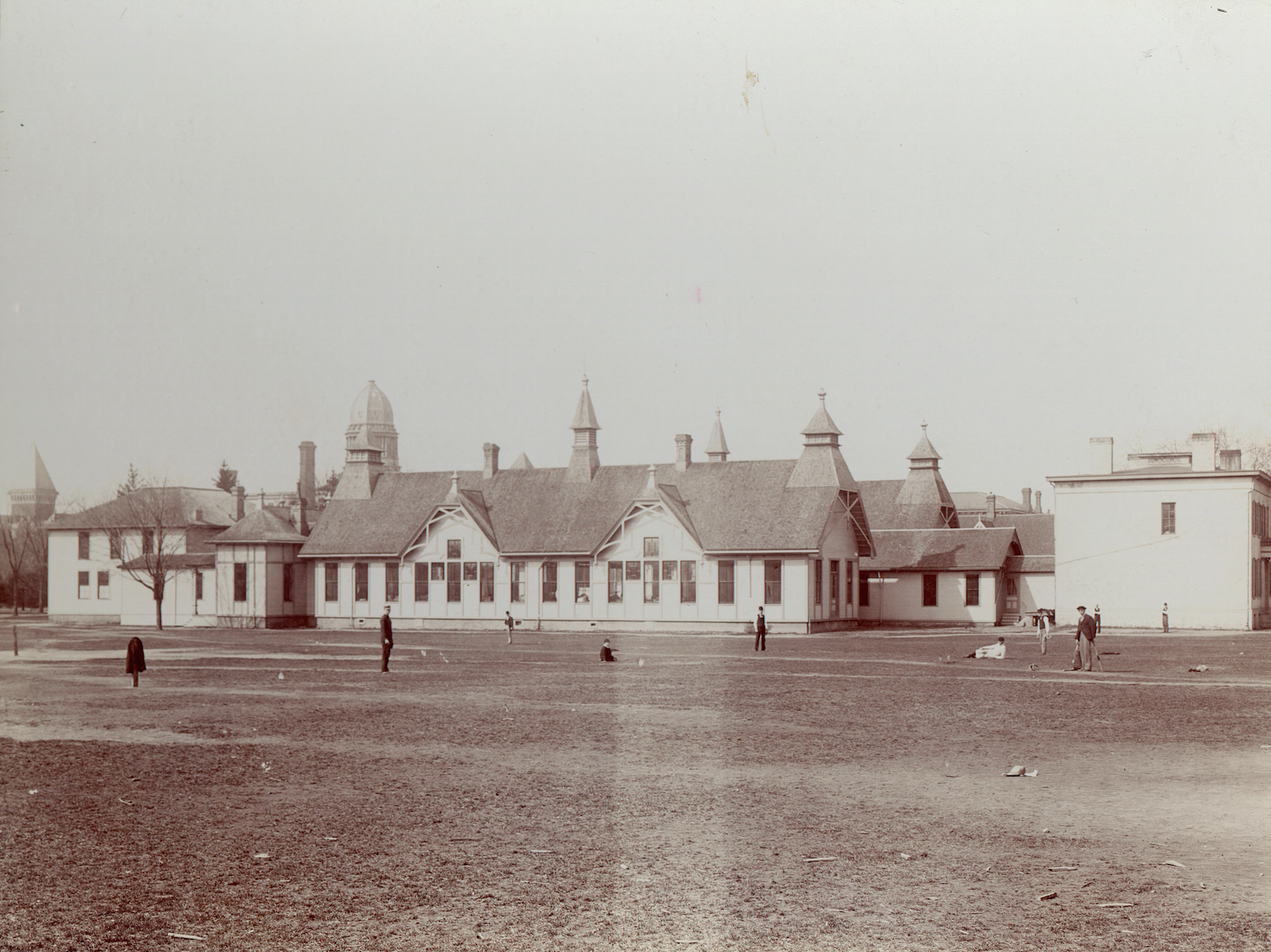 Original U-M Playing Field ca. 1865