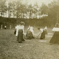 Field Hockey, ca. 1905
