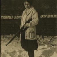 UM Women's Rifle Team, ca. 1924 (Women's Athletic Association)