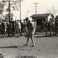 Golf, Woman Teeing Off