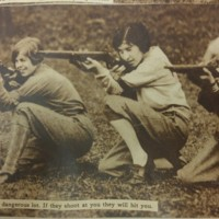 Women's Rifle Team Photo