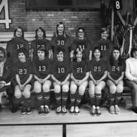 Women's Volleyball Team, 1974 UM