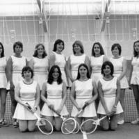 1975 UM Women's Tennis Team