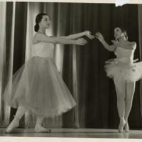 U-M Ballet Club Duet