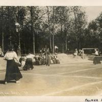 Women's Tennis, Palmer Field, 1910